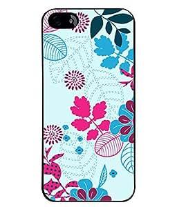 PrintVisa Plastic Multicolor Back Cover For Apple iPhone 5 & 5S