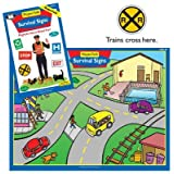 Magnetic Survival Signs Board Game - Super Duper Educational Learning Toy for Kids