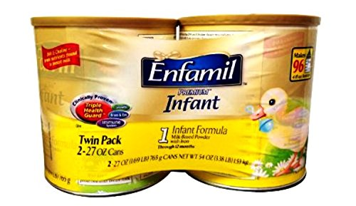 Enfamil Infant Formula Milk-Based with Iron, 2 Count