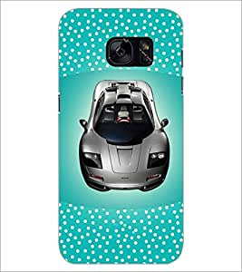 PrintDhaba Car D-4831 Back Case Cover for SAMSUNG GALAXY S7 (Multi-Coloured)