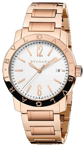 Bulgari BVLGARI Automatic 39mm Solid Rose Gold Mens Watch BBP39WGGD