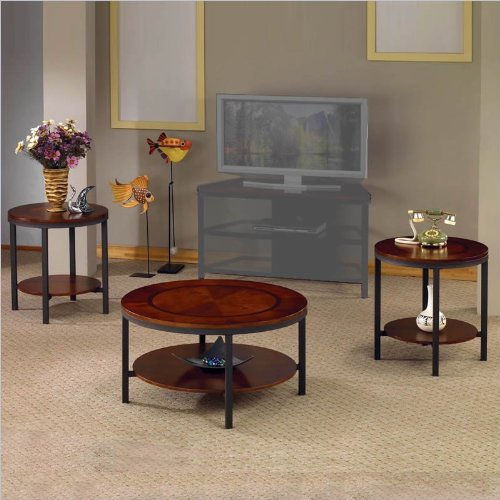 Trisha 3 Piece Coffee Table Set