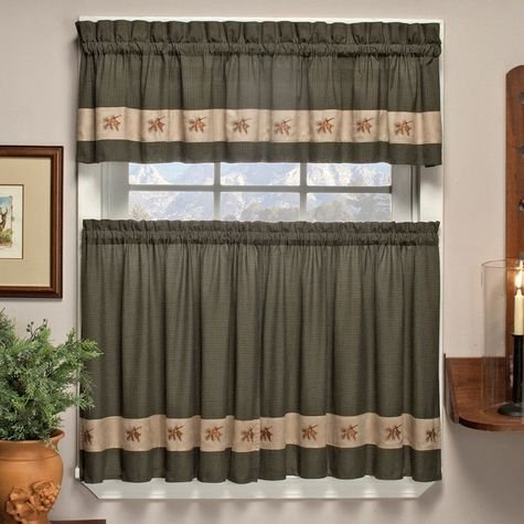 Country Plaid Curtains Shop Everything Log Homes
