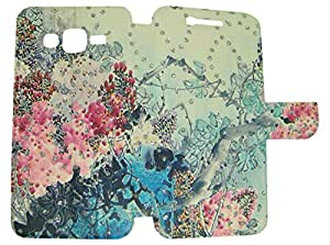 CASSIEY Designer Fancy Flip Cover Case For Samsung Galaxy A8 - DESIGN15