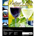 Vintner's Best Deluxe Wine Equipment Kit – 6 Gallon Glass Carboy
