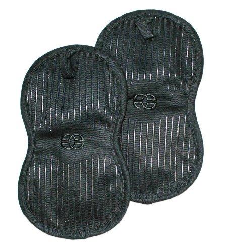 Calphalon 2-Piece Potholder Set, Black Licorice