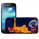 Las Vegas Strip At Night Hard Case Clip On Back Cover For Samsung Galaxy S4 Mini i9190