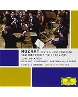Concerto Pour Flûte & Harpe - Sinfonia Concertante Pour Vents