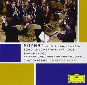 Sinfonia Concertante & Konzert für Flöte und Harfe