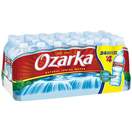 Отзывы NESTLE WATERS OZARKA SPRING WATER 24PK/20oz