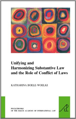 Unifying and Harmonising Substantive Law and the Role of Conflict of Laws (Pocketbooks of the Hague Academy of International Law)
