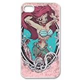Zombie Little Mermaid Hard Case Cover Skin for iphone 4 4s