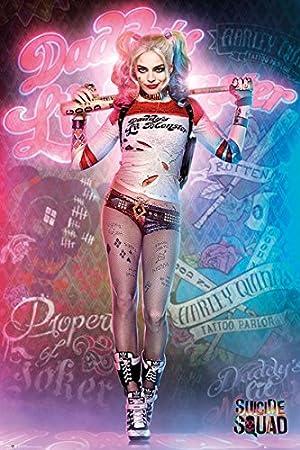 ポスター スーサイド・スクワッド Harley Quinn Stand 2323