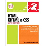 HTML, XHTML, and CSS: Visual QuickStart Guide: With XHTML and CSS (Visual QuickStart Guides)by Elizabeth Castro