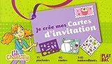echange, troc Anne-Sophie Congar, Armelle Goraguer, Elodie Marty, Collectif - Je crée mes cartes d'invitation : Lili Chantilly