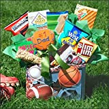 Sports Fan Father's Day Gift Basket