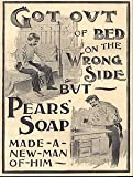 Moonlizard Pears Soap Vintage Advert No 55 Metal Plaque Sizes - 11