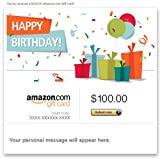Amazon Gift Card - E-mail - Happy Birthday (Presents)
