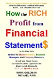 img - for How to Read Financial Statements and Ratio Analysis : A Money Guide on How to Read Accounts for Business Management and Stock Investment book / textbook / text book