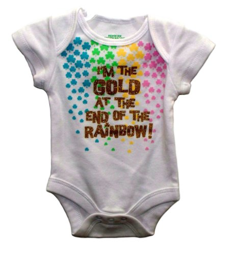 St Patricks Day Baby Outfit front-1052156
