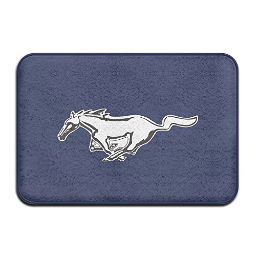 Mustang Logo Welcome Car Mat Doormat Cool Fashion (Trini Cars compare prices)