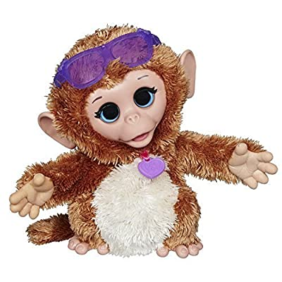 FurReal Friends Baby Cuddles My Giggly Monkey Pet Plush from FurReal Friends