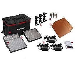 Aputure Amaran 528 LED 3-Light Kit - AL-528S + AL-528W (2pcs)