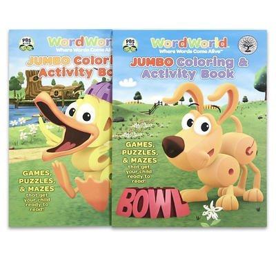 WordWorld: Jumbo Coloring & Activity Book