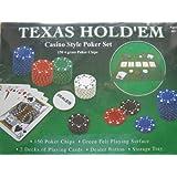 TEXAS HOLD 'EM - Casino Style Poker Set