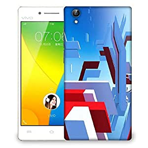Snoogg Mirrors Edge Designer Protective Phone Back Case Cover For VIVO Y51 L