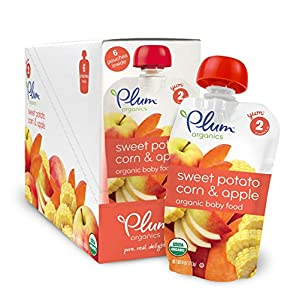 Plum Organics Baby Second Blends, 4.0 Ounce Pouches (Pack of 12) from [Producer]