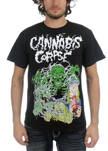 Cannibal Corpse - Top - Uomo nero Small