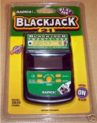 Radica BlackJack handheld - 1