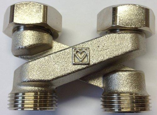 Herz-Kreuzungsstck-wenn-Vorlauf-und-Rcklauf-vertauscht-sind-Bauform-X-Fr-Rohr-Mittelabstand-50-mm