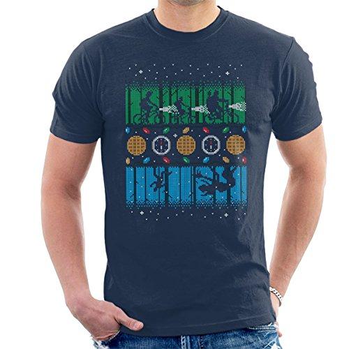 stranger-things-upside-down-christmas-knit-pattern-mens-t-shirt