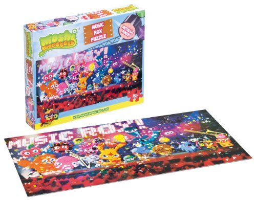 Moshi Monsters - Music Rox Puzzle