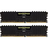 CORSAIR Vengeance LPX 32GB (2 x 16GB) DDR4 288-Pin SDRAM Desktop Memory (Black)