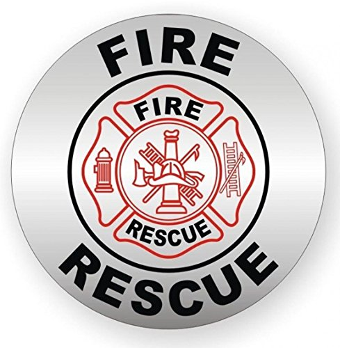 1 PCs Ideal Popular Fire Rescue Vinyl Stickers Weatherproof Shop Label Ladder Decor Size 2