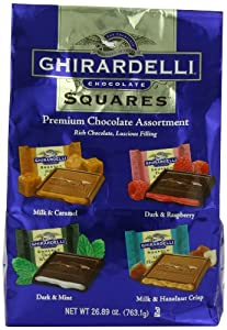 Ghirardelli Premium Chocolate Assortment XXL Bag, 26.89 Ounce