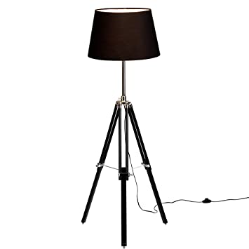 butlers tripod stehleuchte mit dreifu st nder dc61. Black Bedroom Furniture Sets. Home Design Ideas
