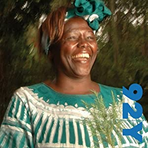 Nobel Laureate Wangari Muta Maathai with Chris Johns at the 92nd Street Y | [Wangari Muta Maathai]