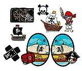 Mono-Quick 309 Aufbügelbilder Piraten, 8-er teilig,...