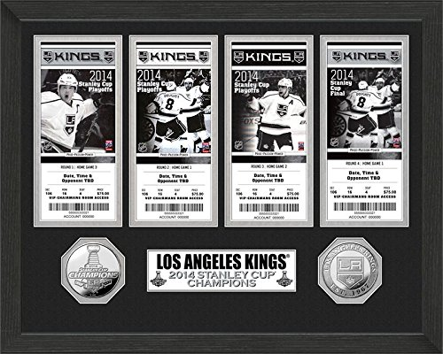 NHL LA Kings 2014 Stanley Cup Champions Ticket Collection