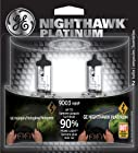 GE 9003NHP/BP2 Nighthawk PLATINUM Headlight Bulbs, Pack of 2