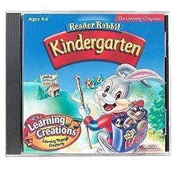 The Learning Company Reader Rabbit Kindergarten
