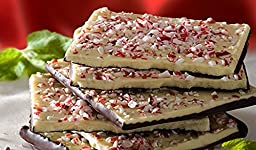 All Natural Peppermint Bark in Holiday Tin 11 Oz
