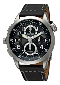 Victorinox Swiss Army Men's 241446 AirBoss Mach 8 Special Edition Black Chronograph Dial Watch