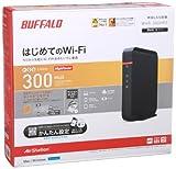 BUFFALO QRsetup 11n/g/b 300Mbps 無線LAN親機 WHR-300HP2