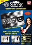 Scanner Guard Card  Protect Against Credit Card Identity Theft