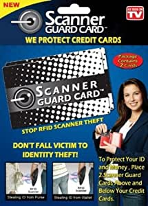 Scanner Guard Card Protect Against Credit Card Identity ...